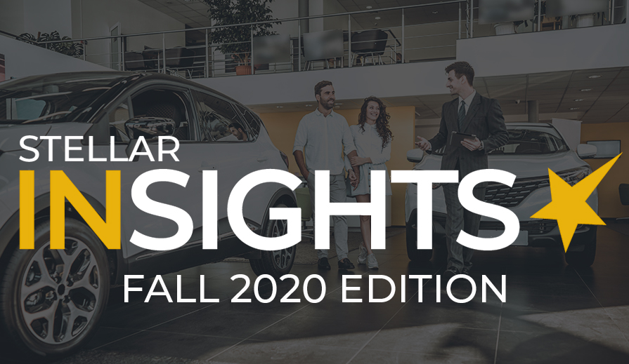 Stellar Insights Fall 2020 Edition