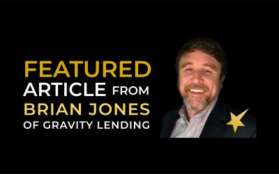 FEATURED ARTICLE FROM BRIAN JONES