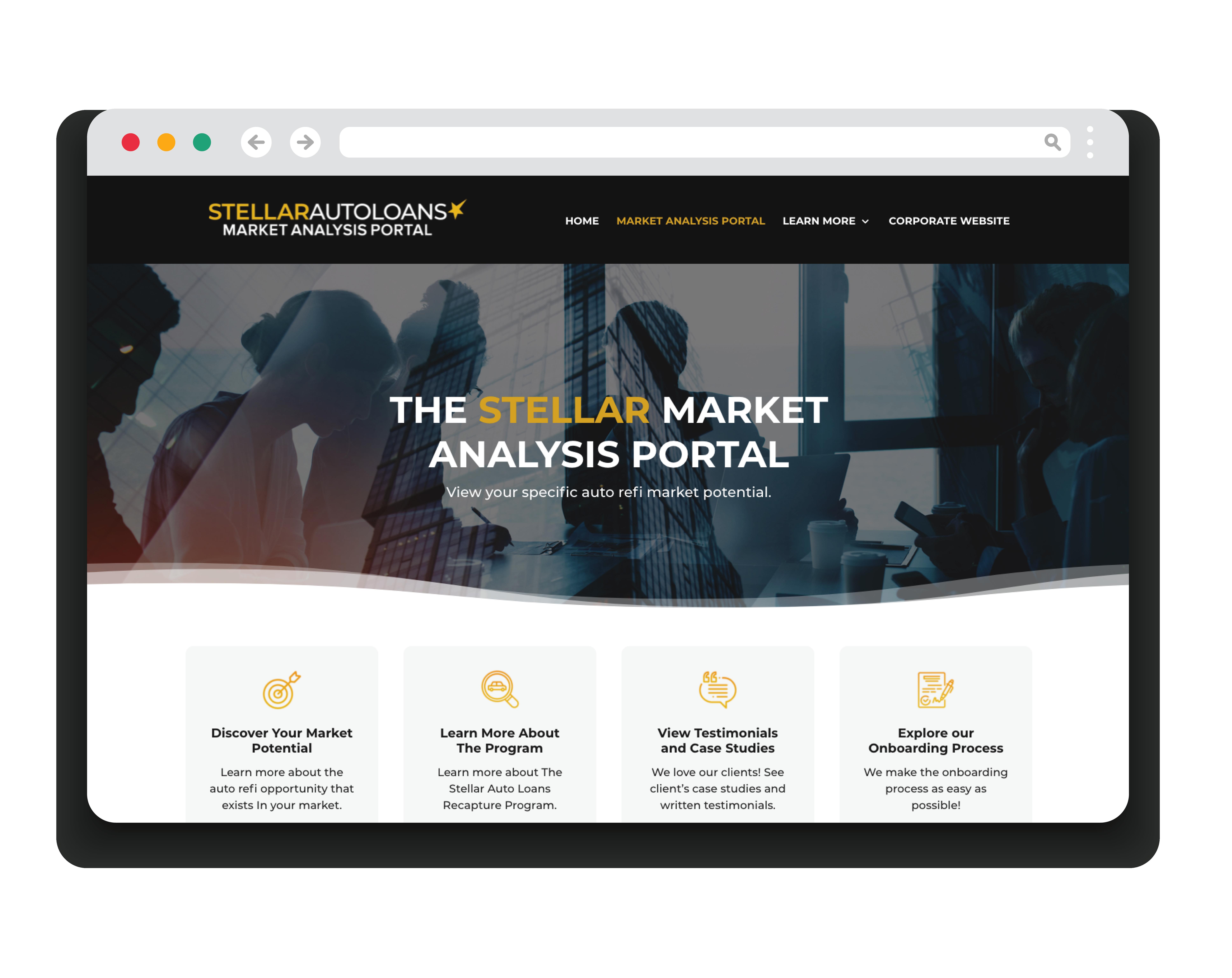 Stellar Market Analysis Portal